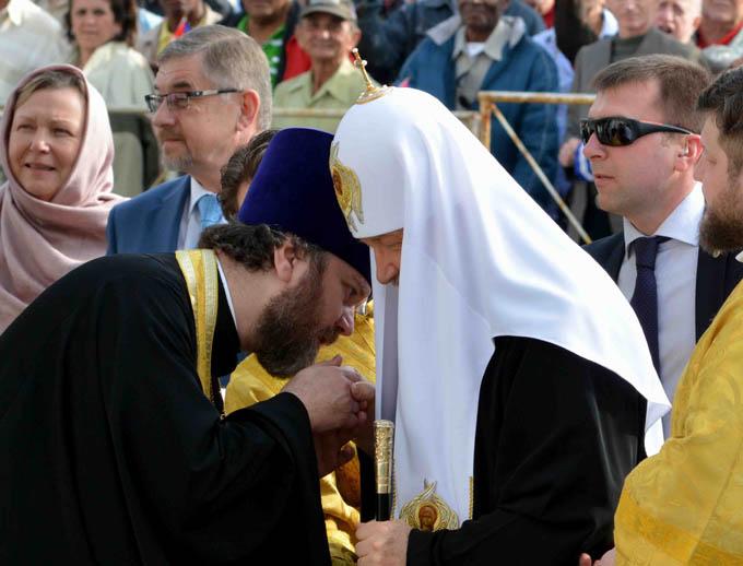 Reencuentro de Amor con el Patriarca Kirill en La Habana