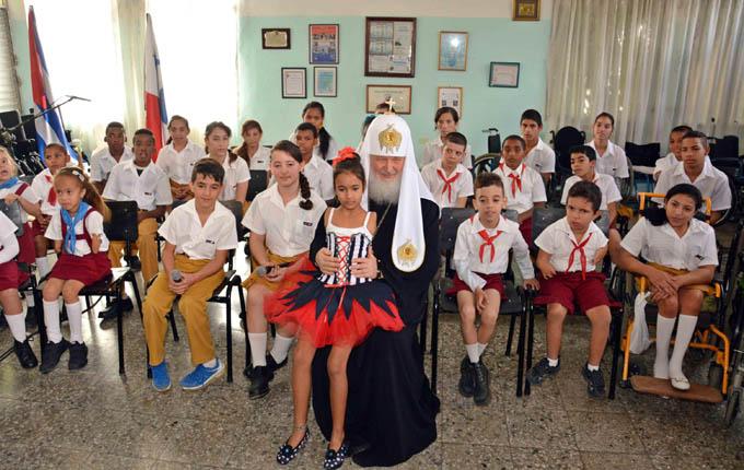 Kirill: escuela Solidaridad con Panamá, un lugar sagrado