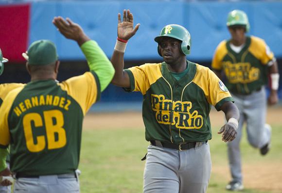 Pinar del Río lidera en solitario el campeonato cubano de béisbol