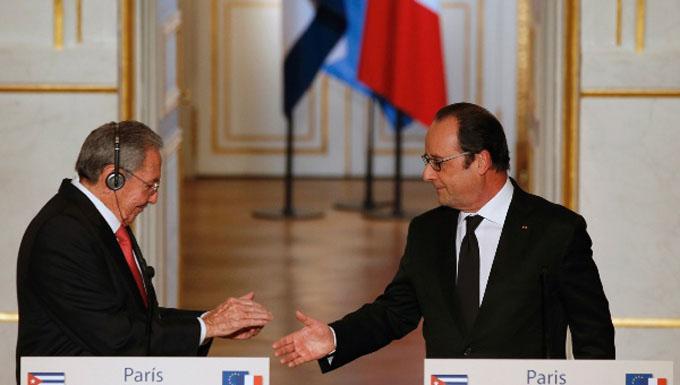 Francia y Cuba firman acuerdo para aliviar deuda y afianzar economía