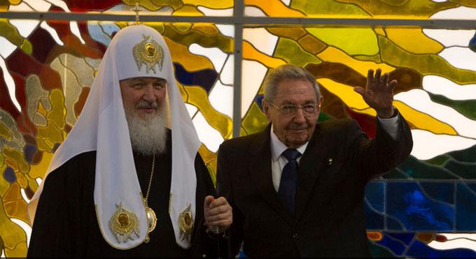 Será condecorado Patriarca Kirill con máxima Orden cubana