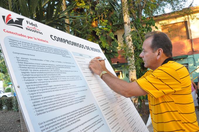 Firman compromisos de la Agricultura  en Granma