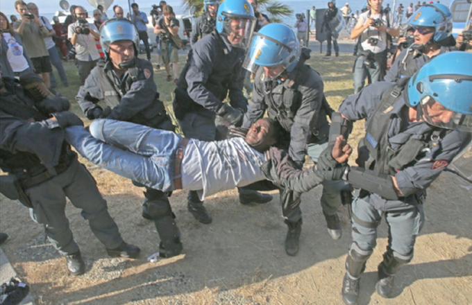 Preocupada ONU por medidas antiinmigrantes de policías europeas