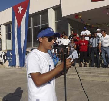 Promueven nuevo primer secretario de la UJC en Manzanillo