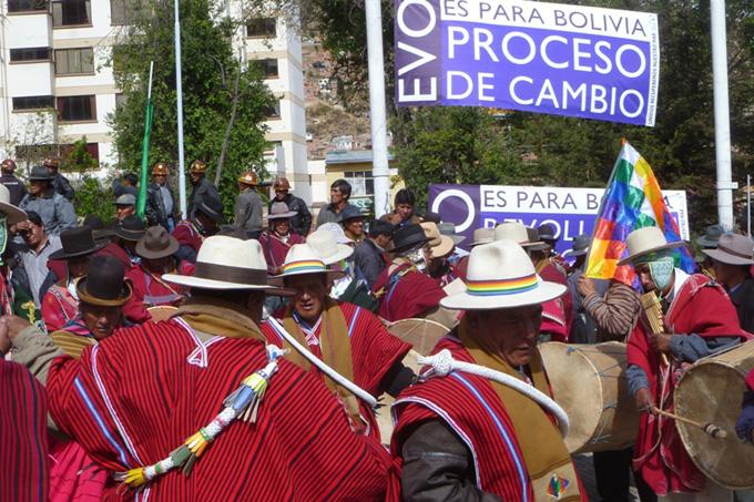 Movimientos sociales confirman apoyo a repostulación de Evo Morales