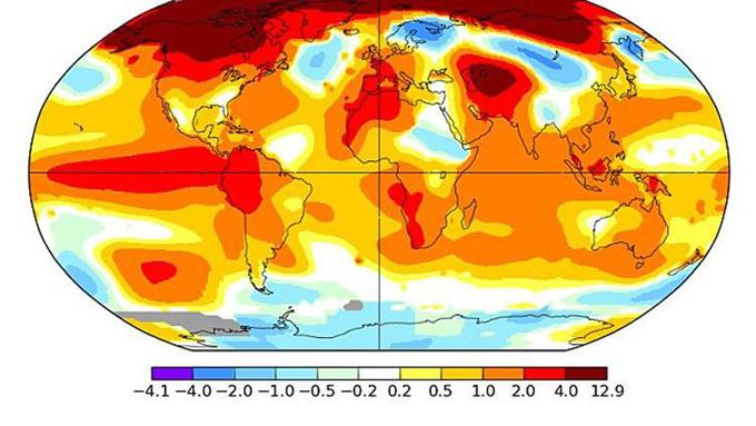 El Niño 'se enfurece': las temperaturas en enero del 2016, las más cálidas de todas las registradas