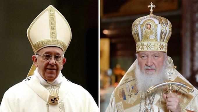 Comunicado de prensa de la Santa Sede y del Patriarcado de Moscú