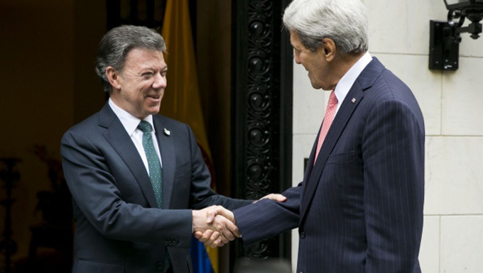 Santos se reúne hoy con Kerry y representante del FMI en EE.UU.