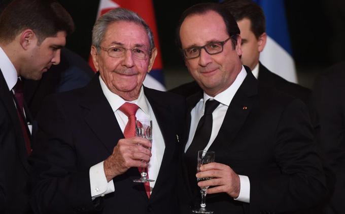 Presidente Raúl Castro califica de exitosa visita de Estado a Francia