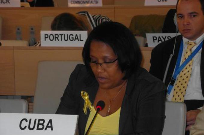 Cuba aboga por derecho a convivencia en un mundo de paz