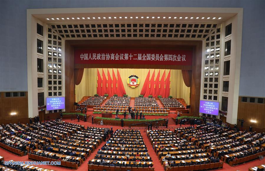 Máximo órgano asesor político de China inicia su sesión anual