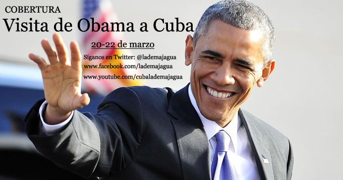 Cobertura visita de Obama
