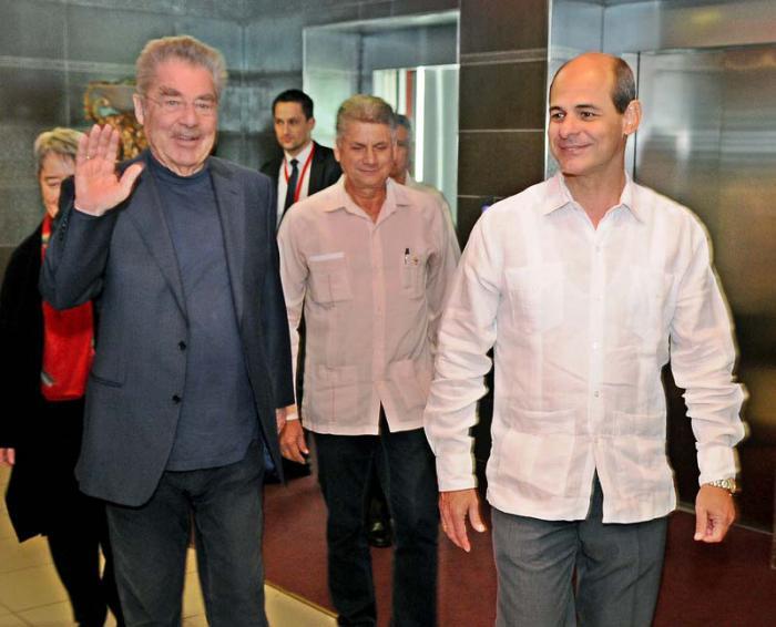 Presidente de Austria llegó a Cuba para visita oficial