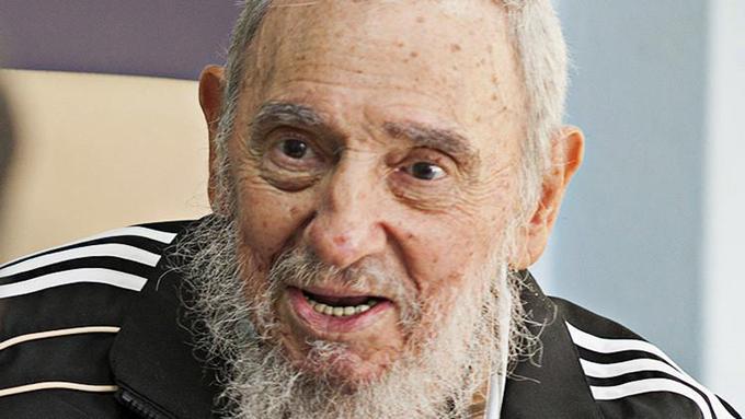 Canto a Fidel desde la caricatura