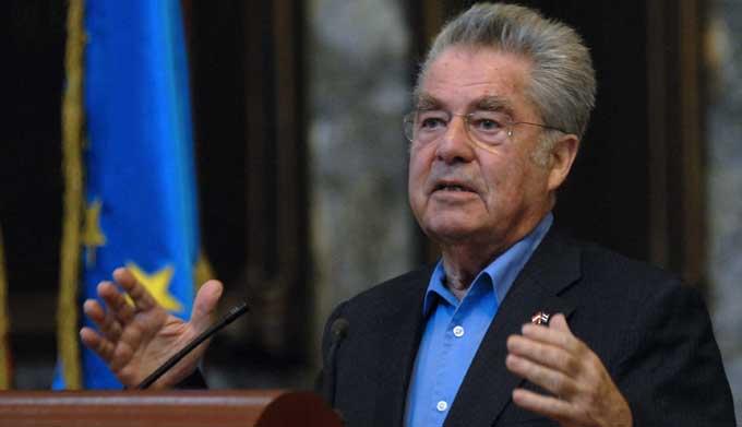 CUBA-LA HABANA-CONFERENCIA MAGISTRAL DEL PRESIDENTE AUSTRIACO EN EL AULA MAGNA