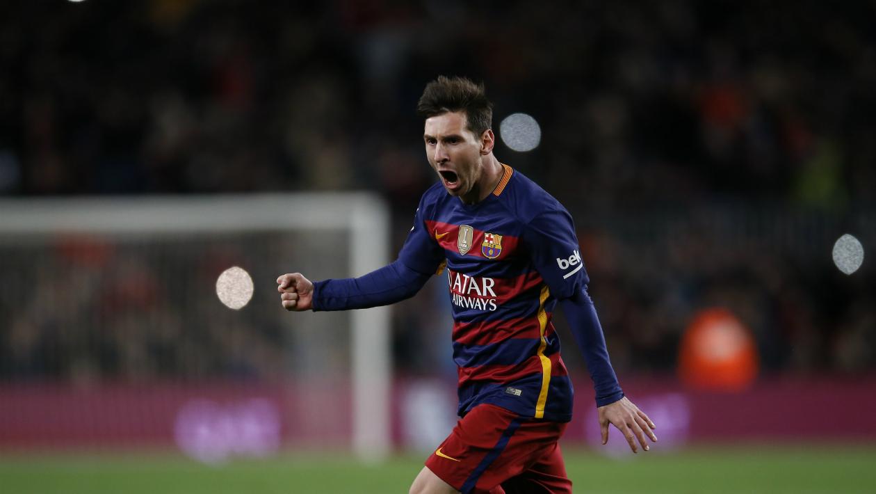 El 60% de los goles de Messi llegan en momentos de apuro