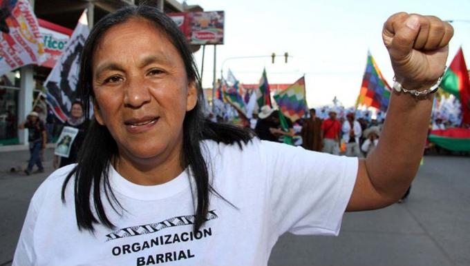 Premio Nobel exige liberación de diputada argentina al Parlasur