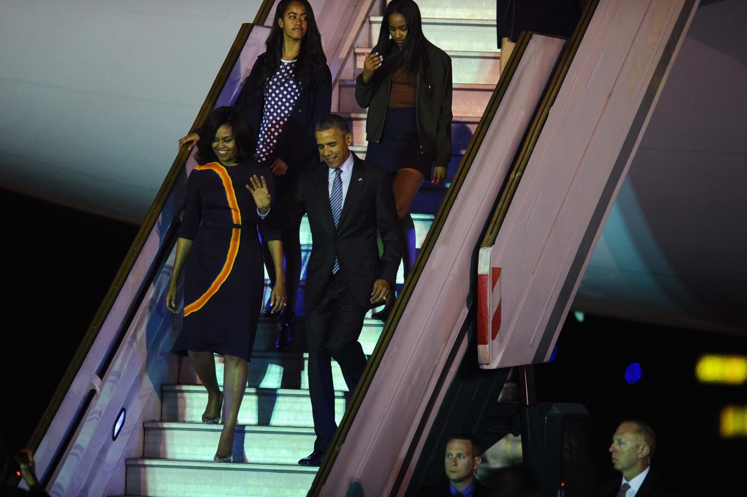 Llega Obama a Argentina