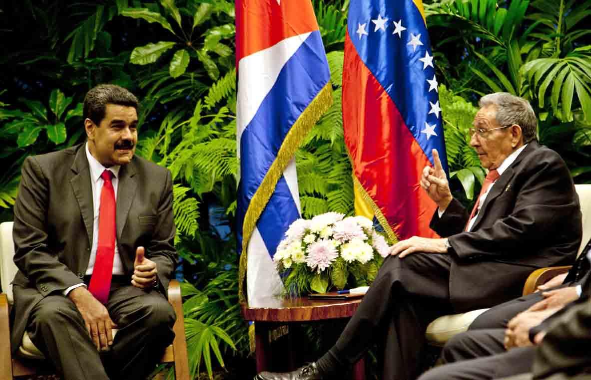 Recibió Raúl al Presidente Nicolás Maduro Moros