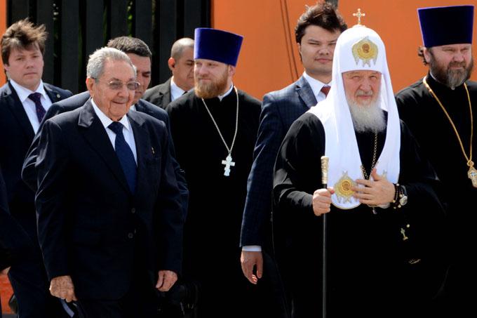 Mensaje del Patriarca Kirill a Raúl