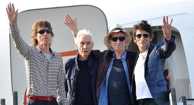 Sonarán hoy los legendarios Rolling Stones en Cuba