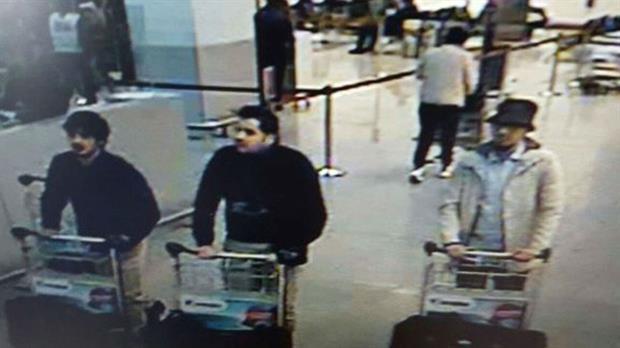 Difunden las fotos de los sospechosos de los atentados en Bruselas