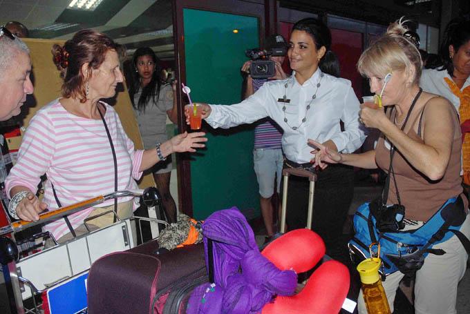 Arribó Cuba a un millón de turistas
