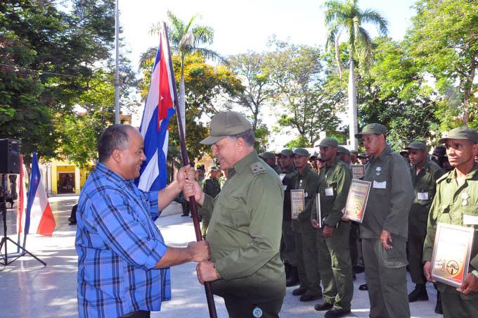 Abanderan brigadas de reservistas de las FAR que asumirán control vectorial