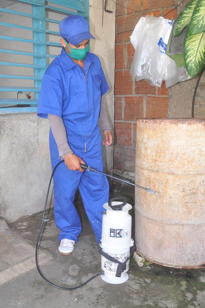 Batida conjunta contra la amenaza del Zika