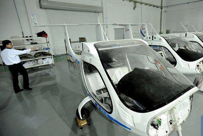 China, lista para la producción en masa de su primer avión eléctrico
