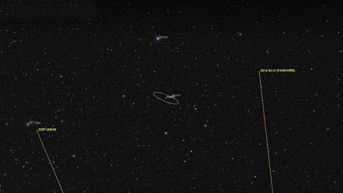 Un cometa 'rozará' la Tierra como nunca antes desde 1770
