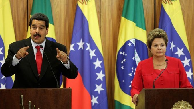 Gobierno venezolano reitera apoyo a presidenta Dilma Rousseff