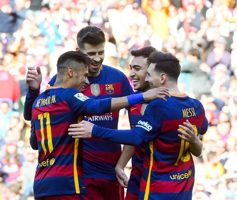 El Barça aplasta y se recrea