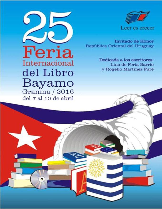 Bayamo se alista para la XXV edición de la Feria del Libro