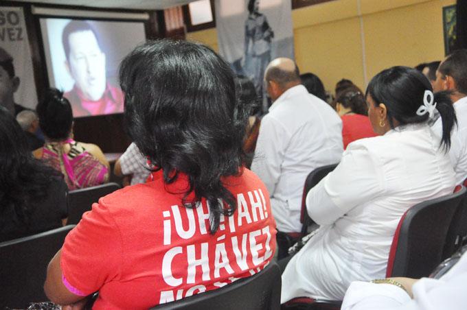 Hugo Chávez en el corazón de Granma