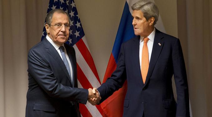 Lavrov y Kerry conversaron sobre Siria y Ucrania