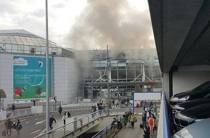 Atentados con bombas en Bruselas