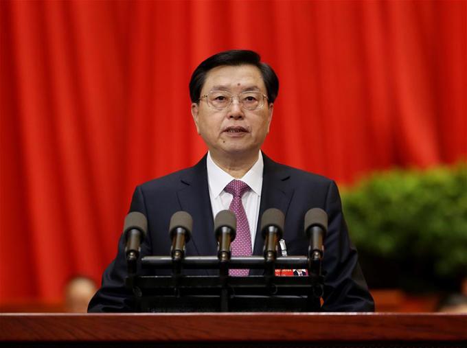 máximo legislador de China, Zhang Dejiang