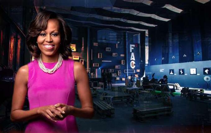 Michelle Obama agradece acogida del pueblo durante visita a Cuba