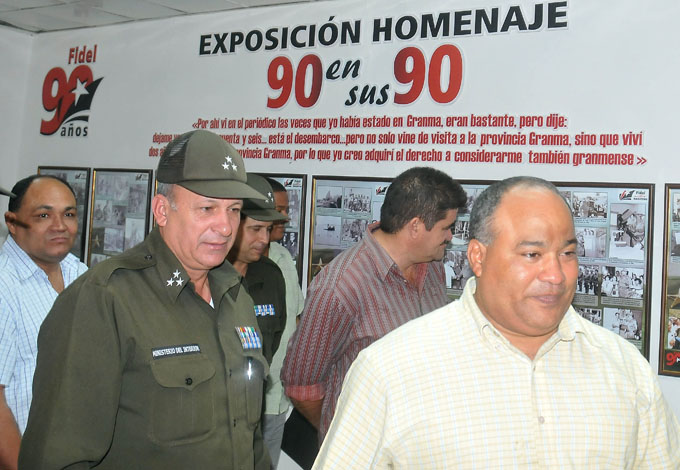 Celebran aniversario de la Seguridad del Estado