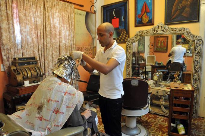 Papito, el peluquero cubano que conversó con Obama