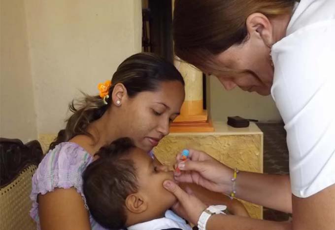 Comienza en Cuba segunda etapa de vacunación antipoliomielitis