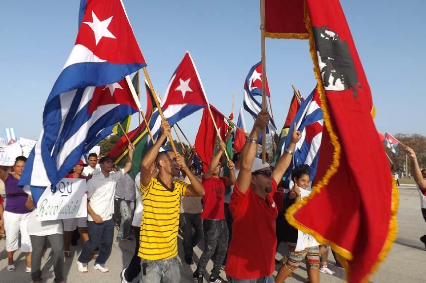 Orgullo de desfilar en tierra de Revolución