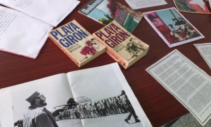 Fidel en sede pedagógica de la Universidad de Granma