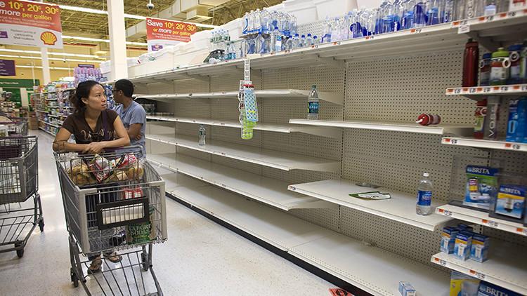 La célebre foto de la 'escasez' en Venezuela se hizo en Nueva York y engañó a todos