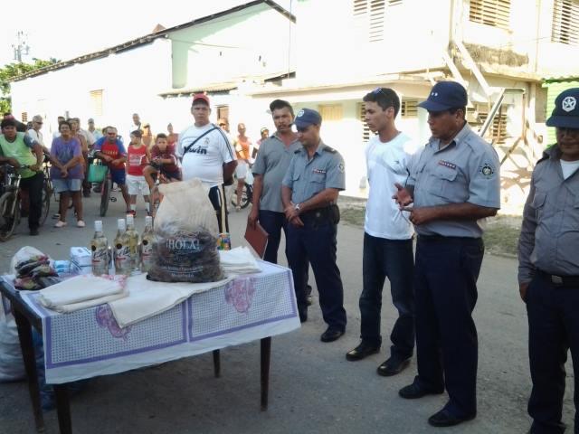Rápido accionar de agentes del Ministerio del Interior para esclarecer hecho delictivo en Niquero