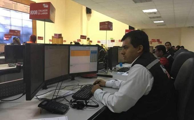Personal del Servicio Integrado de Seguridad (SIS) ECU 911