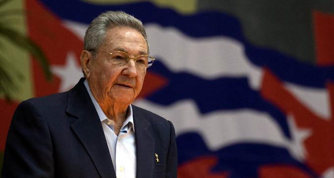 Raúl Castro inaugura en La Habana el VII Congreso del Partido Comunista de Cuba