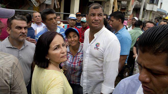 Decretaran duelo nacional en Ecuador por víctimas de terremoto