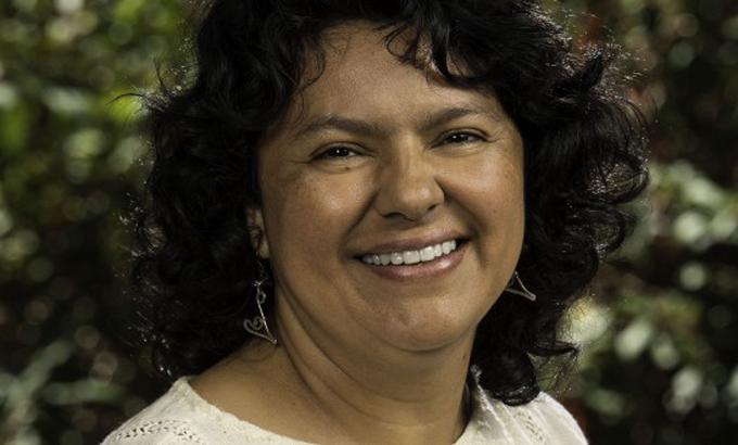 Rendirán homenaje en El Salvador a Berta Cáceres
